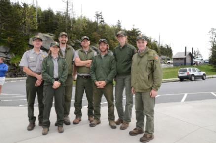 Forney Ridge crew