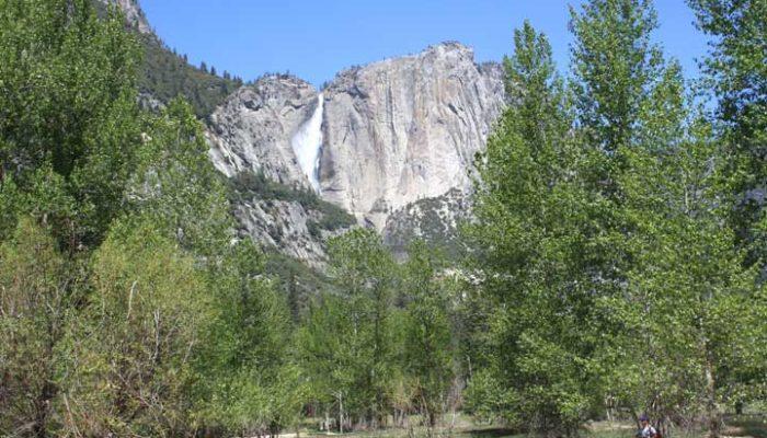 Bridalveil Falls Yosemite - photo by Julie Dodd