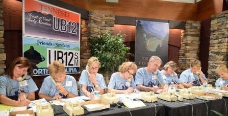 Friends Across The Mountains Telethon volunteers