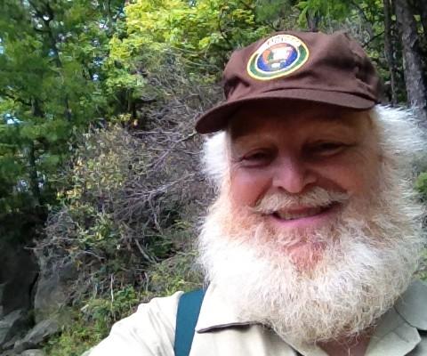 Santa as volunteer in Great Smoky Mountains National Park