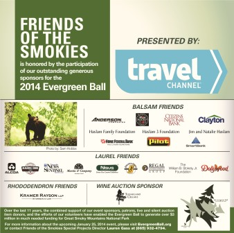 2014 Evergreen Ball Sponsor Ad