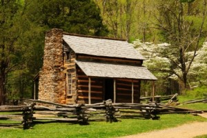 John Oliver Cabin in Cades Cove by Sam Hobbs