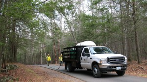 hemlock sprayer truck