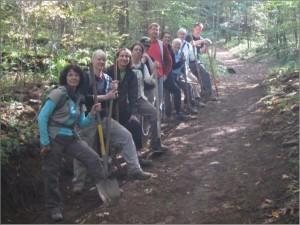 GSMNP Trails Forever volunteers