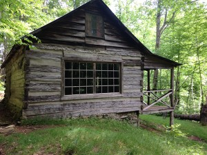 Avent Cabin exterior view