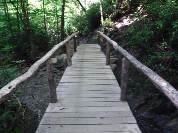 Bridge near Arch Rock