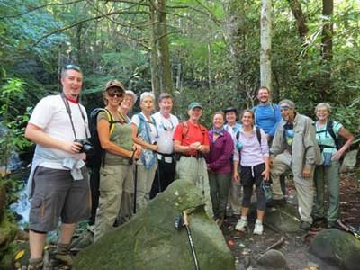 Big Creek Classic Hike 2012