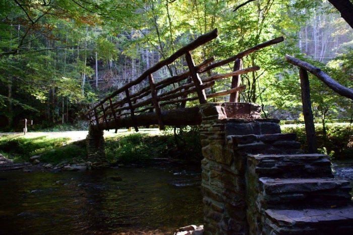 Bridge on Boogerman Trail
