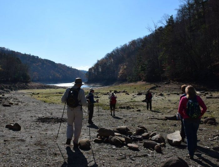 FOTS hikers at Fontana Lake