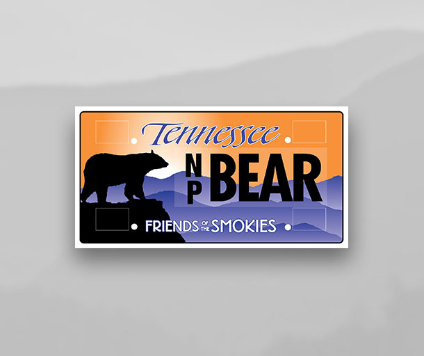 License Plates – Friends of the Smokies