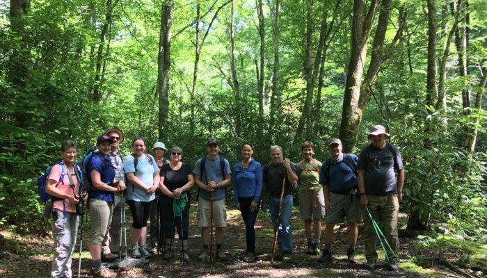 Bradley Fork Trail group hike