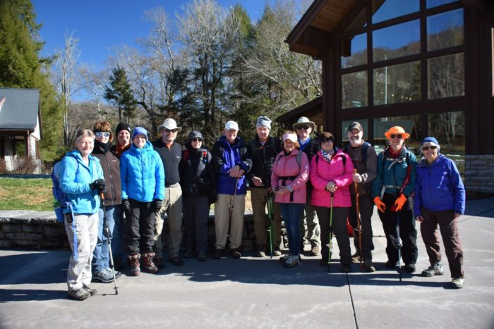 December Classic Hike 2018 group - photo by Linda Spangler