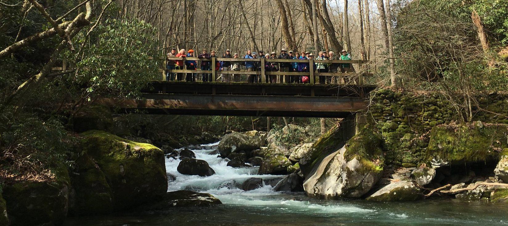 FOTS Big Creek Trail hiking group
