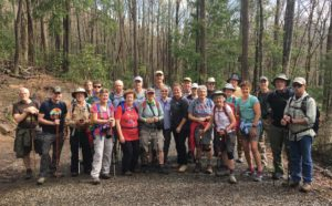 Porters Creek Classic Hike hiking group
