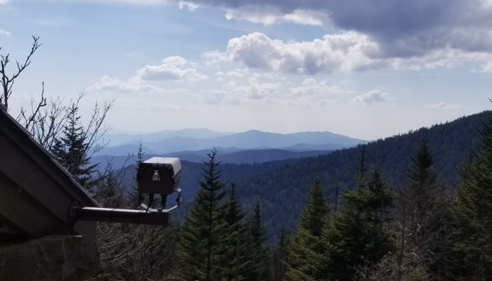webcam at Clingmans Dome, GSMNP