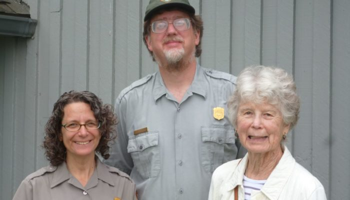 Susan Sachs, Paul Super and Kathryn McNeil, June 2014