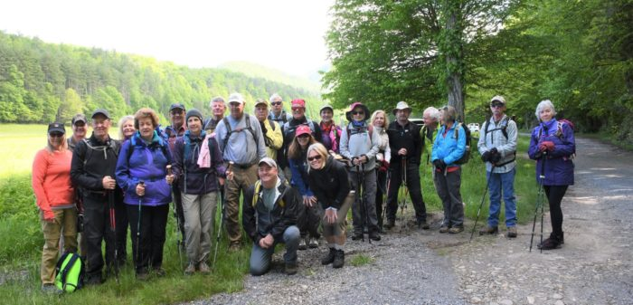 Classic Hike of the Smokies group photo - May 2019