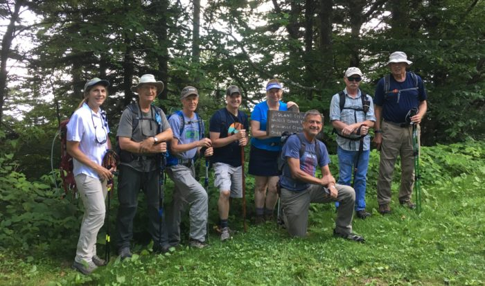 FOTS hiking group - Noland Divide