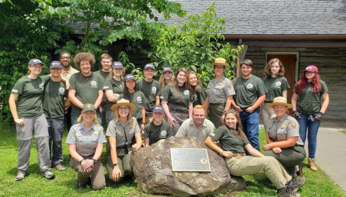GSMNP high school interns 2019
