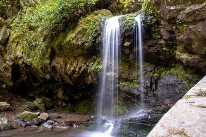 Grotto Falls in GSMNP