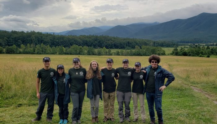 GSMNP high school Tennessee interns 2019