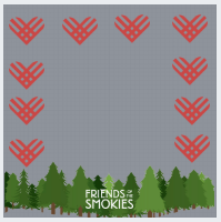 Facebook profile frame with giving tuesday hearts