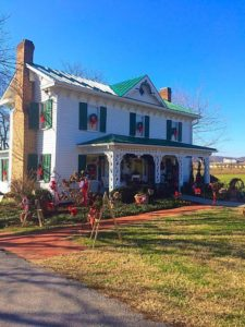 Robert A. Tino Gallery in Sevierville at Christmas