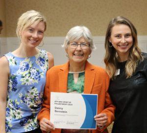 Danny Bernstein receives FOTS Spirit of Philanthropy award