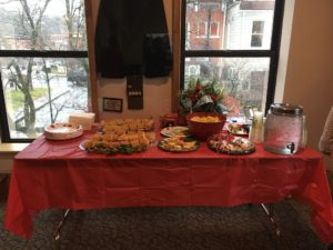 lunch provided by Swain County Visitor Center for FOTS reception