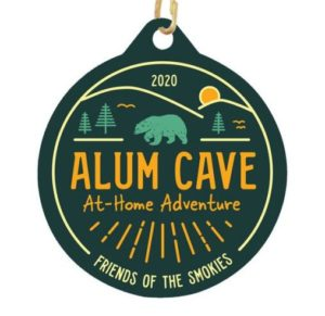 Alum Cave At-Home Adventure medal