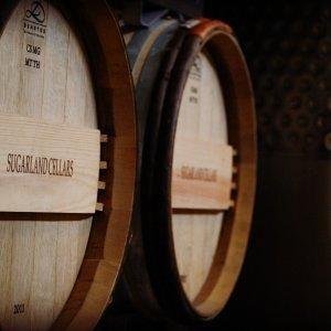 Sugarland Cellars barrels