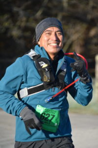runner in Cades Cove Loop Lope 2019