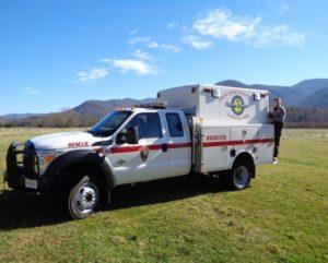 nps emergency truck