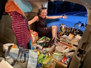 Nancy Ford and food for Tour de Smokies