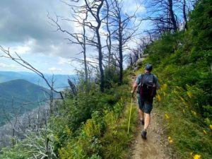 Chris Ford hiking