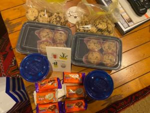 snacks for hikers