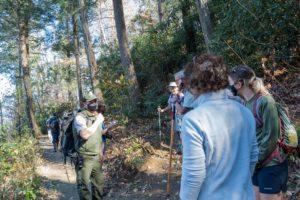 Josh Shapiro on Trillium Gap Trail