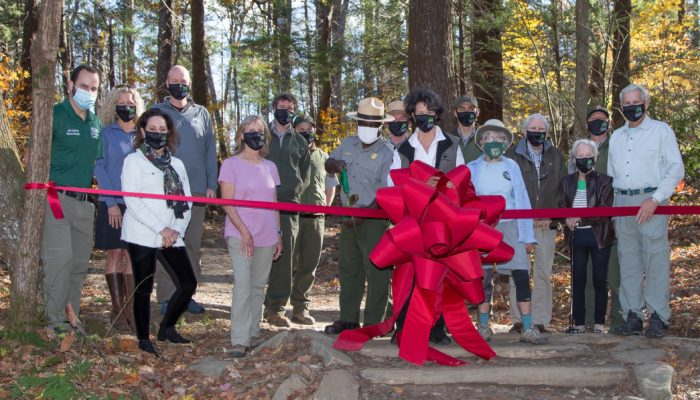 Trillium Gap Trail re-opening ceremony