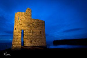 Ballybunion Castle photograph by Phoenix