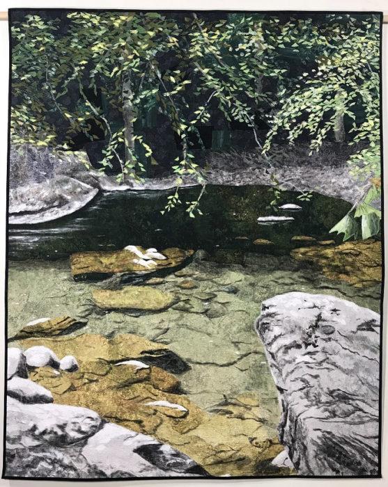 Nancy Hershberger's Beside Still Waters art quilt