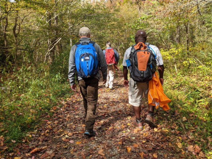 Supt. Cassius Cash on Smokies Hikes for Healing