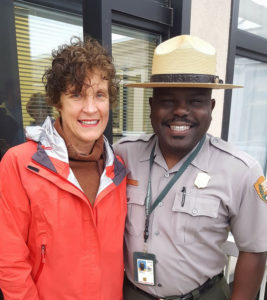 Dolly McLean and Superintendent Cassius Cash