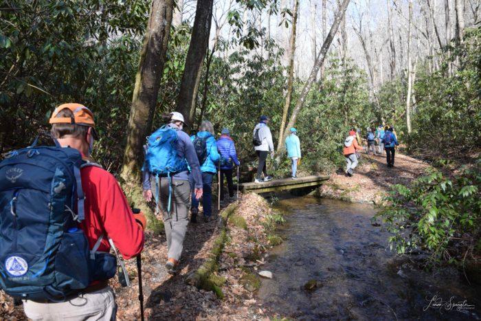 Mingus Creek bridge crossing