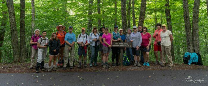 FOTS Classic Hike of the Smokies group photo July 2021