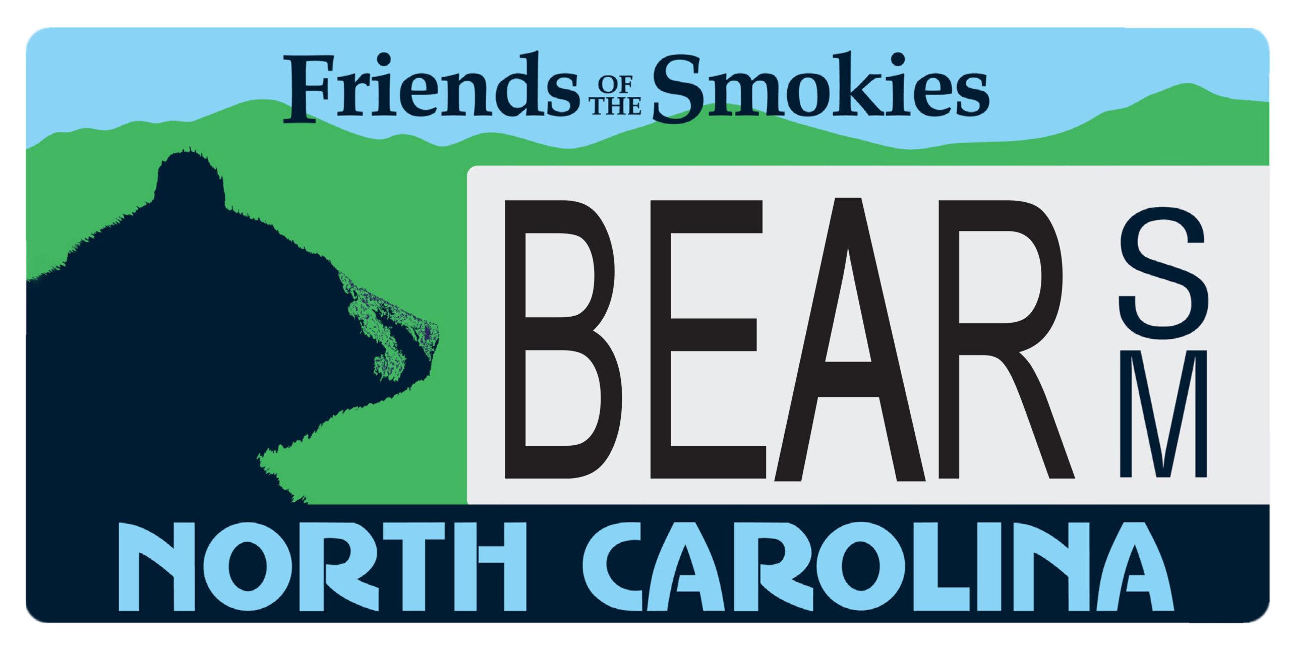 NC license plate